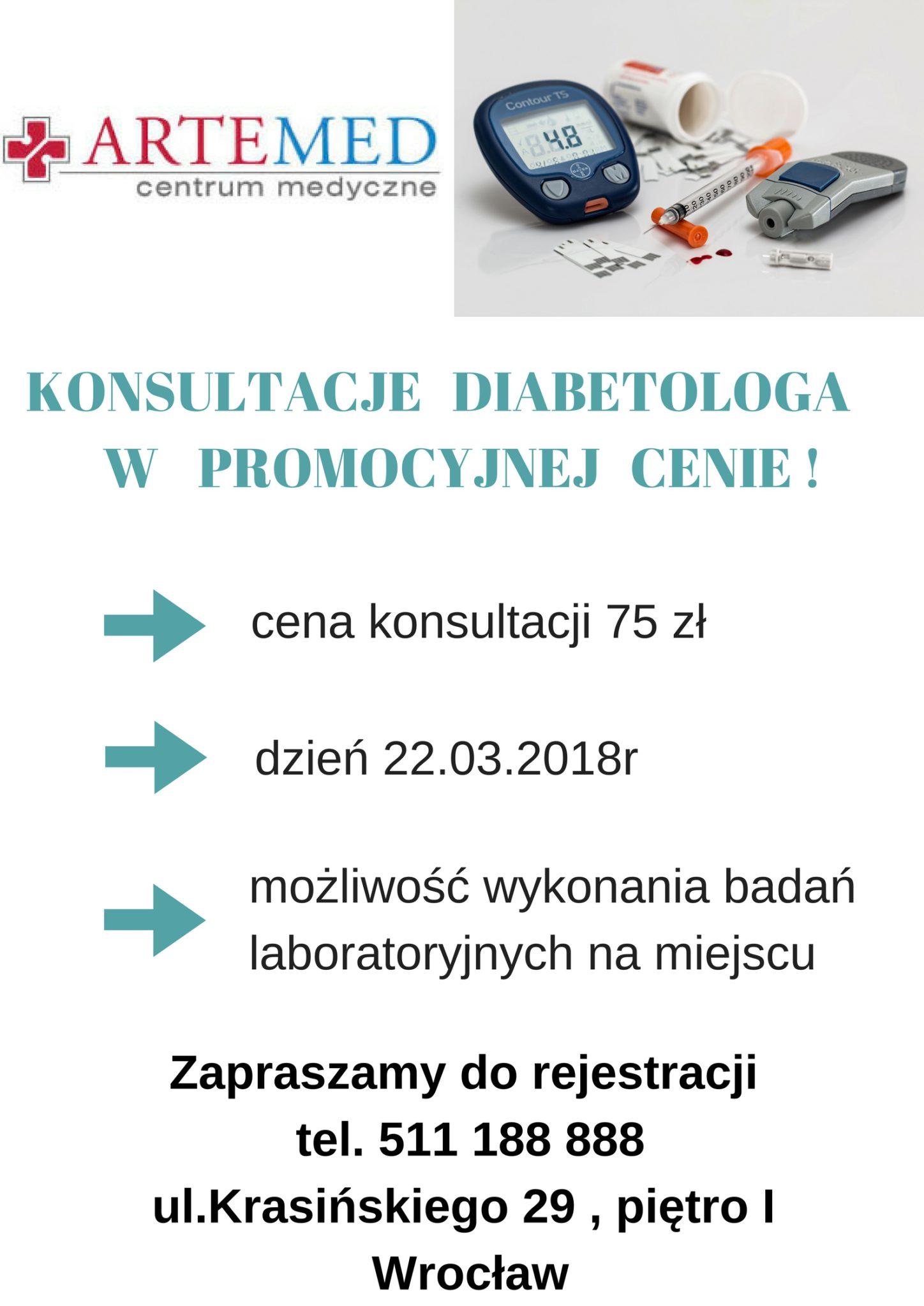 Konsultacje Diabetologa w promocyjnej cenie (3)